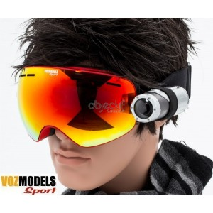 Lunettes masque de ski VOZMODELS Red Edition