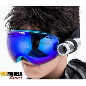 Lunettes masque de ski VOZMODELS Blue Edition