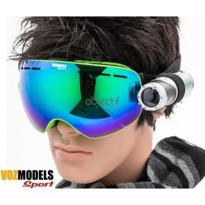 Lunettes masque de ski VOZMODELS Green Edition