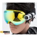Lunettes masque de ski VOZMODELS Gold Edition