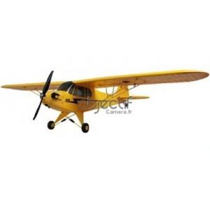 Avion de début DYNAM PIPER J3 CUB ARTF JAUNE DYN8941