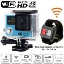 Caméra sport Ultra HD 4K WiFi étanche EASY BLUE 4K