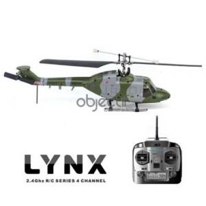 Hélicoptère LYNX Hubsan 2,4GHz 4CH pas fixe RTF H101B