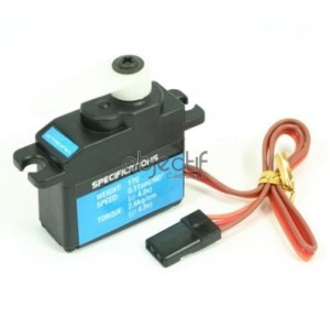 Micro servo ETRONIX 17G 2,6Kg/0,11S MICRO SERVO ANALOGIQUE